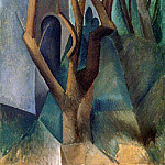 Pablo Picasso (1881-1973) Period of creation: 1908-1918 - 1908 Paysage2