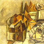 1909 Coffret, compotier, tasse, Pablo Picasso (1881-1973) Period of creation: 1908-1918