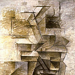 1910 Femme Е la mandoline1, Pablo Picasso (1881-1973) Period of creation: 1908-1918