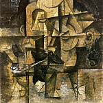 Pablo Picasso (1881-1973) Period of creation: 1908-1918 - 1912 Le poКte