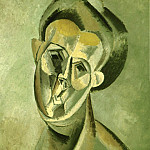 1909 TИte de femme 2, Pablo Picasso (1881-1973) Period of creation: 1908-1918