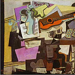 1918 Nature morte, Pablo Picasso (1881-1973) Period of creation: 1908-1918