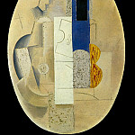 1913 Violon et guitare1, Pablo Picasso (1881-1973) Period of creation: 1908-1918