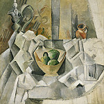 1909 Carafon, pot et compotier, Pablo Picasso (1881-1973) Period of creation: 1908-1918
