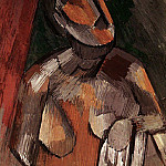 Pablo Picasso (1881-1973) Period of creation: 1908-1918 - 1909 Buste de femme