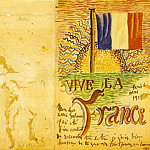 1915 Vive la France, Pablo Picasso (1881-1973) Period of creation: 1908-1918
