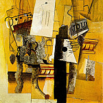 Pablo Picasso (1881-1973) Period of creation: 1908-1918 - 1914 Le guВridon