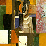 1913 Homme Е la guitare, Pablo Picasso (1881-1973) Period of creation: 1908-1918