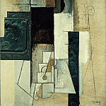 1913 Femme Е la guitare1, Pablo Picasso (1881-1973) Period of creation: 1908-1918