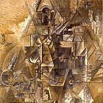 1911 La clarinette, Pablo Picasso (1881-1973) Period of creation: 1908-1918