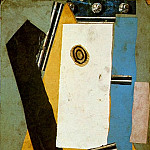 1913 Guitare1, Pablo Picasso (1881-1973) Period of creation: 1908-1918