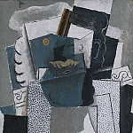 1914 Homme Е la moustache1, Pablo Picasso (1881-1973) Period of creation: 1908-1918