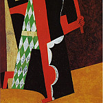Pablo Picasso (1881-1973) Period of creation: 1908-1918 - 1917 Arlequin