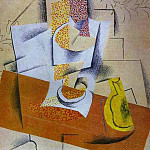 1914 Compotier et poire coupВe, Pablo Picasso (1881-1973) Period of creation: 1908-1918