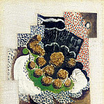 1914 Grappe de raisin, Pablo Picasso (1881-1973) Period of creation: 1908-1918