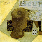 1914 Verre, dВ, journal, Pablo Picasso (1881-1973) Period of creation: 1908-1918