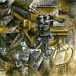 Pablo Picasso (1881-1973) Period of creation: 1908-1918 - 1911 Verre dabsinthe