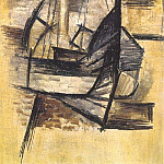 1910 Barque grecque Е CadaquВs, Pablo Picasso (1881-1973) Period of creation: 1908-1918