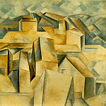 1909 Maisons sur la colline , Pablo Picasso (1881-1973) Period of creation: 1908-1918