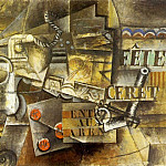 1912 FИtes de CВret, Pablo Picasso (1881-1973) Period of creation: 1908-1918