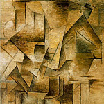 1910 Le guitariste [Le joueur de guitare], Pablo Picasso (1881-1973) Period of creation: 1908-1918