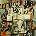 Pablo Picasso (1881-1973) Period of creation: 1908-1918 - 1912 Compotier