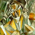 Pablo Picasso (1881-1973) Period of creation: 1908-1918 - 1909 Femme assise1