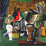 1914 Vive La France, Pablo Picasso (1881-1973) Period of creation: 1908-1918
