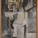 1911 Homme Е la guitare, Pablo Picasso (1881-1973) Period of creation: 1908-1918