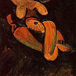 Pablo Picasso (1881-1973) Period of creation: 1908-1918 - 1908 Nu couchВ2