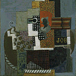 Pablo Picasso (1881-1973) Period of creation: 1908-1918 - 1916 Nature morte job