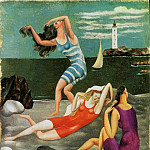 Pablo Picasso (1881-1973) Period of creation: 1908-1918 - 1918 Les baigneuses