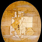 1912 Violon de CВret, Pablo Picasso (1881-1973) Period of creation: 1908-1918