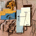1913 Paysage de CВret1, Pablo Picasso (1881-1973) Period of creation: 1908-1918