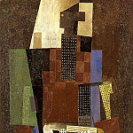 1916 Guitariste, Pablo Picasso (1881-1973) Period of creation: 1908-1918