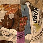 1914 Le vieux Marc, Pablo Picasso (1881-1973) Period of creation: 1908-1918