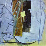1913 Clarinette et Violon, Pablo Picasso (1881-1973) Period of creation: 1908-1918