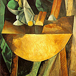 1909 Pains et compotier aux fruits sur une table, Pablo Picasso (1881-1973) Period of creation: 1908-1918