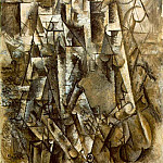 1911 Le poКte, Pablo Picasso (1881-1973) Period of creation: 1908-1918