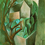 1908 Maisonette dans un jardin, Pablo Picasso (1881-1973) Period of creation: 1908-1918