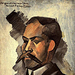 1909 Portait de Manuel PollarВs. JPG, Pablo Picasso (1881-1973) Period of creation: 1908-1918