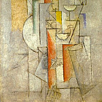 Pablo Picasso (1881-1973) Period of creation: 1908-1918 - 1912 Femme nue (Jaime Eva)