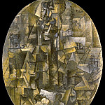 1911 Homme Е la pipe, Pablo Picasso (1881-1973) Period of creation: 1908-1918