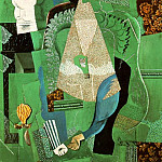 Pablo Picasso (1881-1973) Period of creation: 1908-1918 - 1914 Portrait de jeune fille1