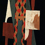 Pablo Picasso (1881-1973) Period of creation: 1908-1918 - 1916 Arlequin. JPG