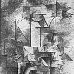 1911 La violiniste, Pablo Picasso (1881-1973) Period of creation: 1908-1918