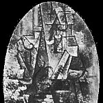 1911 Homme Е la mandoline1, Pablo Picasso (1881-1973) Period of creation: 1908-1918