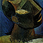 1908 TИte dhomme, Pablo Picasso (1881-1973) Period of creation: 1908-1918