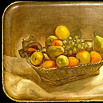 1918 Corbeille de fruits, Pablo Picasso (1881-1973) Period of creation: 1908-1918