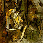 Pablo Picasso (1881-1973) Period of creation: 1908-1918 - 1909 Femme nue assise1